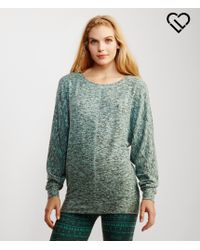 Live Love Dream | Blue Lld Long Sleeve Dolman Sweater | Lyst