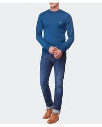 Vivienne Westwood - Blue Crew Neck Sweater for Men - Lyst