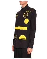 J.W.Anderson - Yellow Cotton Poplin Shirt for Men - Lyst