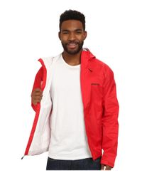 Patagonia | Red Torrentshell Jacket for Men | Lyst