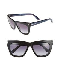 Tom Ford | Black 'celina' 55mm Sunglasses | Lyst