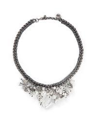Venessa Arizaga - Metallic 'ready To Party' Necklace - Lyst