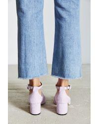 Urban Outfitters | Purple Bessie Suede Heel | Lyst