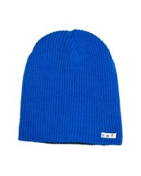 Neff | Blue 'daily' Reversible Knit Cap for Men | Lyst