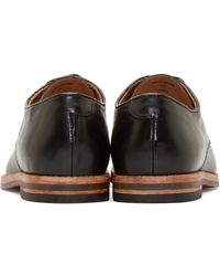 H by Hudson - Black Leather Hadstone Derbys for Men - Lyst