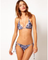 We Are Handsome | The Stampede String Bikini | Lyst