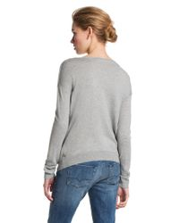 BOSS Orange - Gray Viscose Blend Sweater Wessicana - Lyst