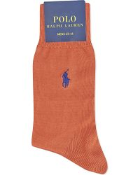 Pink Pony | Orange Fil D'ecosse Cotton Socks for Men | Lyst