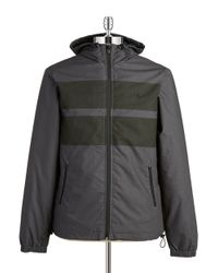 Original Penguin | Gray Striped Jacket for Men | Lyst