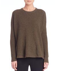 Polo Ralph Lauren - Green Cashmere Crewneck Sweater - Lyst