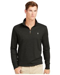 Polo Ralph Lauren | Black Pima Soft-touch Pullover for Men | Lyst