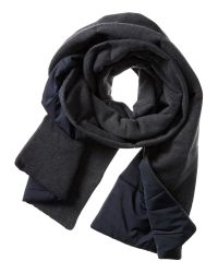 Banana Republic | Blue Quilted Primaloft Scarf for Men | Lyst