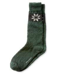 Banana Republic | Green Snowflake Sock for Men | Lyst
