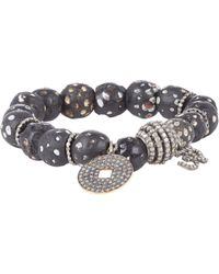 Carole Shashona | Metallic Tribal Om Goddess Bracelet | Lyst