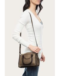 Frye | Brown Bianca Small Satchel | Lyst