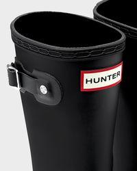 HUNTER - Black Original Kids Rain Boots - Lyst