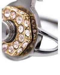 Vivienne Westwood | Metallic 'jolene' Orb Ring | Lyst