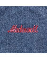 Madewell - Blue Short Flea Market Flare Jeans In Kara Wash - Lyst