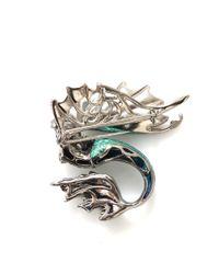 Arunashi | Blue Paraiba Mermaid Pin/Pendant | Lyst