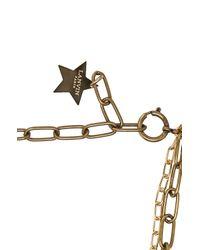 Lanvin - Metallic Star & Moon Short Necklace - Lyst