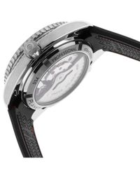 Omega - Women's Seamaster Ocean Planet Auto Black Rubber - Lyst