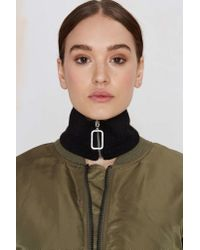 Nasty Gal | Black If We Had A Collar | Lyst