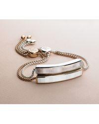 Monica Vinader | Metallic Baja Bracelet | Lyst