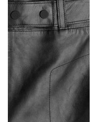 3.1 Phillip Lim - Leather Culottes - Black - Lyst