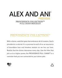 ALEX AND ANI | Metallic Precious Metals Evil Eye Bar Ring Pull Chain Bracelet | Lyst