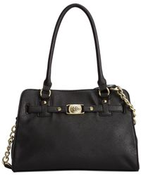 Marc Fisher - Black Day By Day Belted Satchel - Lyst