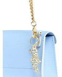 Sophie Hulme | Blue 'Nano' Leather Envelope Crossbody Bag | Lyst