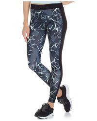 PUMA | Black Printed Leggings | Lyst
