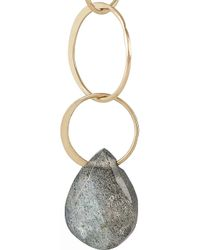 Melissa Joy Manning - Blue 14-Karat Gold Labradorite Earrings - Lyst