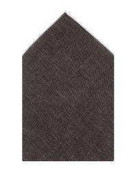BOSS - Brown 'pocket Square 33 X 33'   Linen Pocket Square for Men - Lyst