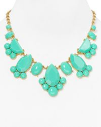 kate spade new york - Blue Day Tripper Necklace 18 - Lyst