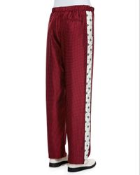 Rag & Bone - Purple Rudy Drawstring Printed Pants - Lyst