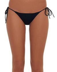 Mara Hoffman - Black Beaded-back Bikini Briefs - Lyst