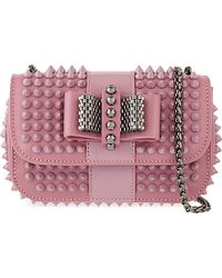 Christian Louboutin | Pink Sweety Charity Nu Spikes | Lyst