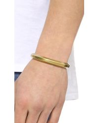 Giles & Brother - Metallic Hex Cuff for Men - Lyst