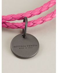 Bottega Veneta | Pink Braided Bracelet | Lyst