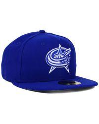 KTZ | Columbus Blue Jackets C-dub 59fifty Cap for Men | Lyst