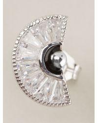 V Jewellery | Metallic 'simplicity Taper' Earrings | Lyst