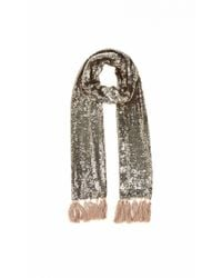 Temperley London - Metallic Tamir Dinner Scarf - Lyst