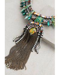 Deepa Gurnani | Green Patonga Necklace | Lyst