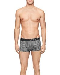 Calvin Klein | Gray 'bold' Trunks for Men | Lyst