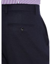 Chester Barrie | Blue Drill Trousers for Men | Lyst
