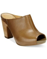 Clarks | Natural Okena Chic Mules | Lyst