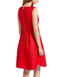 Ted Baker | Red Nuhad Bow Detail Dress | Lyst