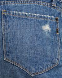 Genetic Denim - Blue Skirt - Taryn Center Zip - Lyst