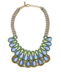 Sveva Collection - Blue Collana Lunga Collection Pietre Rosa - Lyst